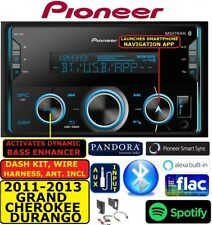 2011-2013 GRAND CHEROKEE/ DURANGO PIONEER Bluetooth USB AUX CAR Radio Stereo PKG