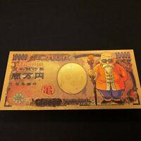 Dragon Ball Z Kamesennin Master Roshi Turtle Beautiful Gold Money Card 10,000 JP