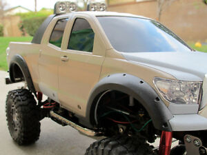 New Tamiya 1/10 RC Toy Toyota Tundra Truck Add-on set Black Fender Flare Flares