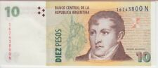 ARGENTINA BANKNOTE P354, 10 PESOS (2012) SERIES N, UNC