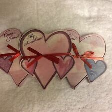 Martin Designs Lot Of Three Notepads Forever Yours & My Sweetheart