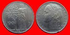 100 LIRAS 1961 ITALIA-23492