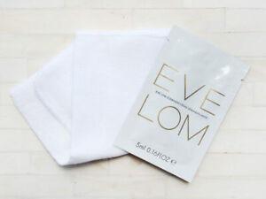 Eve Lom Cleanser Muslin Cloth 5ml Skin Makeup Cream Moisturiser Balm