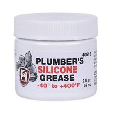 HERCULES, PLUMBERS SILICONE GREASE LUBRICANT FAUCET STEM, O RING AND VALVES