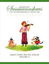 Early Start On The Violin, Volume 2 - A Method For Children Egon Sassmannshaus