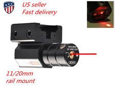 Us Tactical Red Laser Dot Sight Scope Beam 11/20mm Mount for Gun Rifle Pistol
