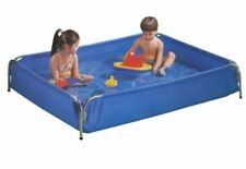 Aquafun Metal Frame Inflatable Wading Pool�for Kids