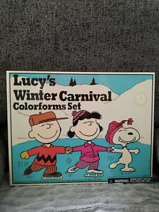 Colorforms Retro Lucy's Winter Carnival  New Edition of Classic Toy Peanuts