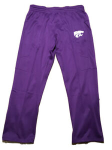 Kansas State Cats Soft Athletic Pants Mens Size XL Purple K-State Football