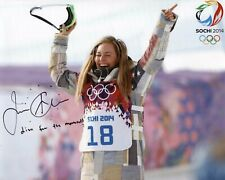 Jamie Anderson Signed 8x10 Lot of (2) Auto Autograph Olympic Gold Snowboarding