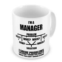 Manager Funny Novelty Gift Mug