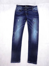 RELISH Jeans Womens Jeans Size M Denim Ripped Blue Classic Slim Fit NWT