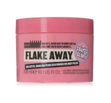 NEW Soap & Glory FLAKE AWAY Body Polish w/ Shea Butter & Sea Salt-10.1 oz Full