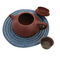 Handmade fabric place mats European Style Round Western Food Pad Hand-Made ERU