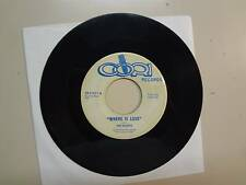 "SHYRES:Where Is Love 2:30-My Girl 3:19-U.S. 7"" Cori Records CR 31011,R.I. Garage"
