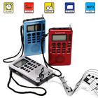Portable Digital LCD Receiver AM FM Band Radio Recorder MP3 Music Player REC