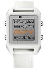 Hugo Boss Square Digital World Timer White Silicone Mens Watch 1512819
