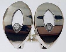 CHOPARD Happy Diamonds ICONS Earrings~18K White Gold+Diamonds~84/3747~$7,050.00