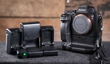 Sony Alpha A7S II 4k camera - With 5 batteries, chargers, battery grip!