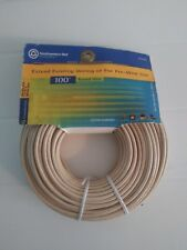 Southwestern Bell ® 100' Feet 6 Conductor Round Phone Line Cable Wire New NIP