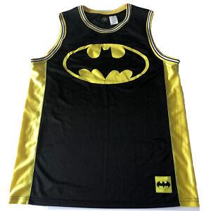 Batman #1 DC Comics Surfer Skater Basketball Jersey Tank Top Shirt Sz XL 46/48