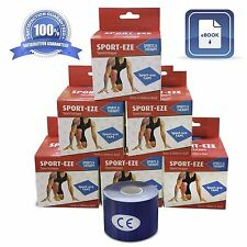 Kinesiology Tape 2 In x 16.4 Ft - 11 Colors FREE Shipping Free How To Manual
