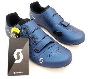 Scott Road Team Boa Bike Cycling Shoes Blue Men's Size 42 EU / 8.5 US