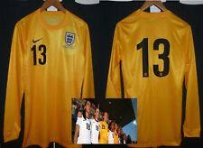 England womens player issue football goalkeeper shirt ladies soccer jersey
