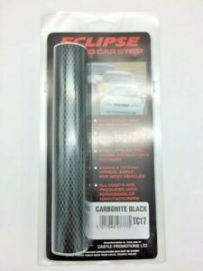 Black Carbon Fibre Gloss Touring Car Sun Strip - Easy To Fit
