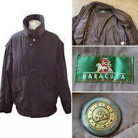 BARACUTA - Men's Medium (40) Jacket Coat - Mauve / Purple - Vintage Green Label