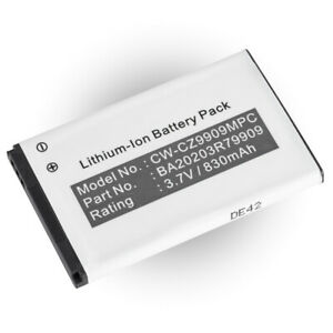 Battery for Creative Zen Micro Photo (P/N DAA-BA0009, BA20203R79909 )