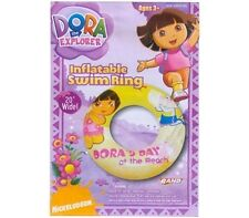 Inflatable Swim Ring DORA & Boots Age 3+ New