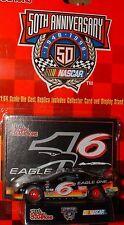1998 Racing Champions 50th NASCAR 1:64 #6 Mark Martin Eagle One Ford Stock Car