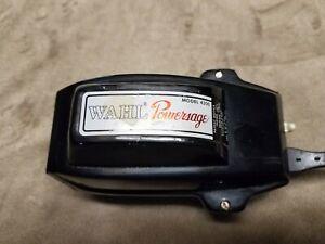 Vintage Wahl Powersage Model 4300 Electric Vibrator Massager euc Tested