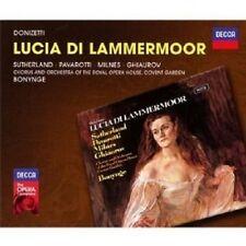 Sutherland/Pavarotti/Milnes/Ghiaurov/Roho/+ - Lucia di Lammermoor 2 CD NUOVO