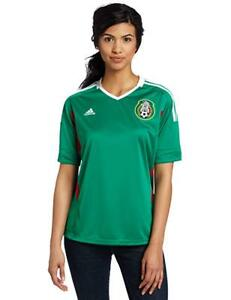 Women's Adidas Mexico Home Soccer Jersey Performance World Cup Vintage New