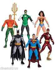 DC JLA Alex Ross Green Lantern Wonder Woman Superman Flash Batman Box Set of 6