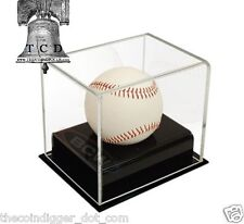BCW Baseball Deluxe Acrylic Display Case ✯ UV Protection Autograph Holder ✯
