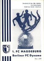 FDGB-Pokal 81/82 1. FC Magdeburg - BFC Dynamo, 21.11.1981