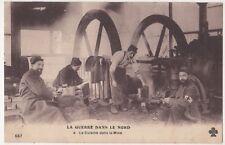 La Guerre Dans Le Nord, La Cuisine dans la Mine WW1 Postcard B894