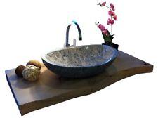 """Waschbecken Waschschale Granit Marmor Model """"rio"""" Juparana 42cm"""