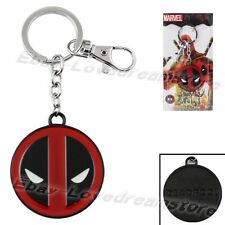 """New Arrival! Super Hero Red Deadpool 14cm/5.6"""" Metal Key Ring Chain New In Box"""