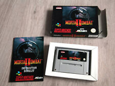Mortal Kombat 2 SNES (Super Nintendo) Game