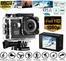 1080P Ultra Hd Sport Action Camera Dvr Dv Helmet Cam Waterproof Camcorder Usa