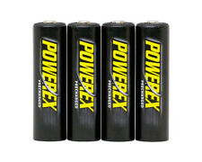 PowerEx Precharged AA 2600 mAh NiMH Rechargeable Batteries Low Self Discharge