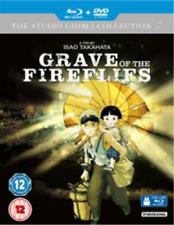 Grave of The Fireflies 5055201822314 Blu-ray / With DVD - Double Play Region B