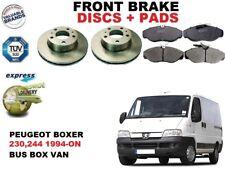für Peugeot Boxer Bus Lieferwagen 230 244 Vorderbremse Scheibensatz +
