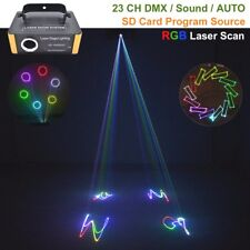 500mw RGB SD card Animation Laser Light Projector show DJ Home Party Stage Light