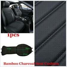 1x Car Front Seat Cover Breathable Bamboo Charcoal Pad for Auto Chair Cushion