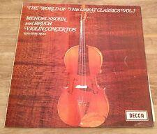 VINYL LP : The World of Great Classics VOL 3 - Ruggiero Ricci SPA 88 - Stereo